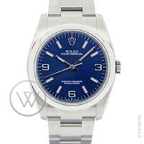 Rolex Oyster Perpetual 36 Blue New-Full Set