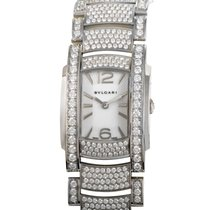 Bulgari ASSIOMA D Diamonds Womens Quartz Watch AAW31WGD2GD2
