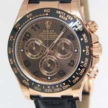 Rolex Daytona Chronograph 18k Rose Gold Watch Ceramic Box/Pape...