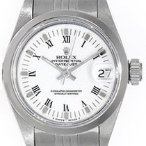 Rolex Ladies Rolex Date Pre-owned Stainless Steel Watch 79160
