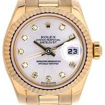 Rolex Ladies Rolex President Watch 179178 Factory Silver Dial
