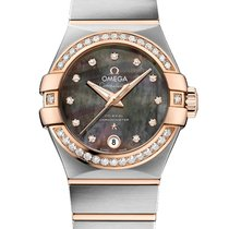 Omega Constellation Tahiti Co-Axial Automatic 27mm Ladies Watch
