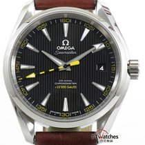 Omega Aqua Terra 150m Co-axial 15000 Gauss Box Papers