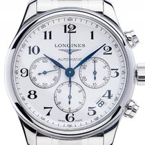 Longines Master Collection Stahl Automatik Chronograph Armband...