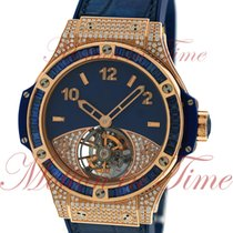 Hublot Big Bang 41mm Tutti Frutti Tourbillon Dark Blue Pave,...