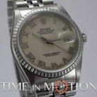 Rolex Oyster Perpetual Datejust 16220 Crème Certificat Rolex...