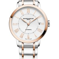 Baume & Mercier Classima Stainless Steel/Rose Gold  36,5mm M