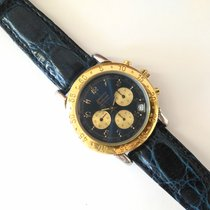 Zenith Epervier El Primero Gold & Steel Chrono Blue Dial
