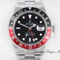 Rolex GMT MASTER II STAHL 16710 T COKE AUTOMATIK RECTANGULAR DIAL