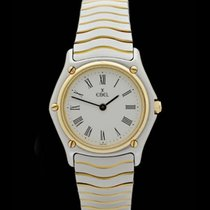 Ebel Wave - Lady - Edelstahl/Gelbgold - 27mm - AAW