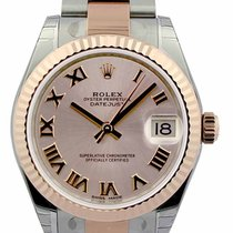 Rolex DateJust 31 Pink Dial Oyster Perpetual Auto Women Watch...