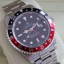 Rolex Oyster GMT Master II Steel Coke Bezel 40 mm (2002)