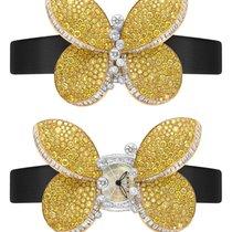Graff Princess Butterfly White Gold & Yellow Diamonds...