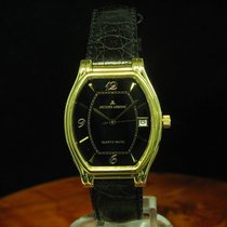 Jacques Lemans Quartz-matic Gold Mantel / Edelstahl Herrenuhr...