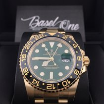 Rolex GMT-Master II 116718ln green gold
