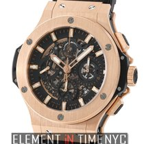 Hublot Big Bang Aero Bang 18k Rose Gold Chronograph 44mm