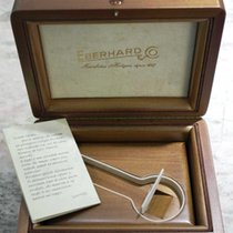 Eberhard & Co. vintage wooden watch box rare