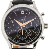 Longines Heritage Chronograph 41 Leather