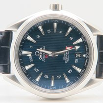 Omega Seamaster Aqua Terra 150m GMT Co-axial With Steel Strap