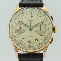 Chronographe Suisse Suisse Vintage Manual Winding 18k Gold
