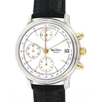 Paul Picot Chrono2 4047 Steel, Yellow Gold,36mm