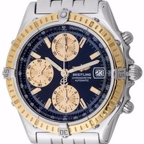 Breitling Chronomat D13352 Automatic 39mm Gold Bezel