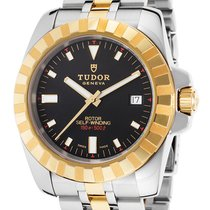 Tudor New  Men's  20013 18k Yellow Gold and St. Steel  by...