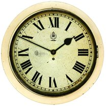 Smiths WW2 RAF Type II Hospital White Dial Wall Clock