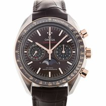 Omega Moonwatch Co-Axial Master Chronometer Moonphase Chronogr...