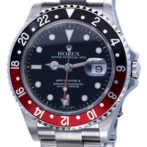 ロレックス (Rolex) Oyster GMT Master II Steel Coke Bezel 40 mm (2005)