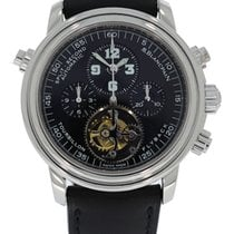 Blancpain Leman Split Second Chronograph Tourbillon Platinum...