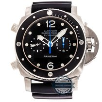 Panerai Luminor Submersible 1950 3 Day Flyback Chronograph...