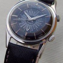Jaeger-LeCoultre Vintage Lecoultre Memovox Alarm Wordtime K814