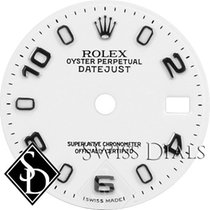 Rolex Datejust White Luminous Index Hour Markers and Arabic...