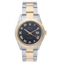 Rolex Turnograph Men's 2-Tone Steel & Gold Watch 16253...