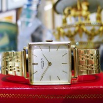 Universal Genève 14k Yellow Gold Mechanical Square Men's...