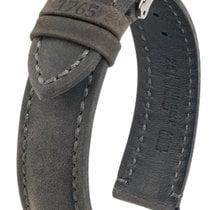 Hirsch Heritage Artisan L Lederband anthrazit 20mm 05033030-2-20