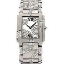 Patek Philippe TWENTY-4 Medium White Gold Watch Circled Diamonds