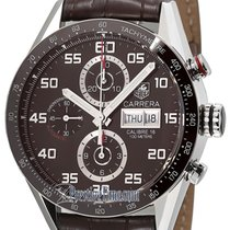 TAG Heuer Carrera Day Date Automatic Chronograph 43mm cv2a1s.f...