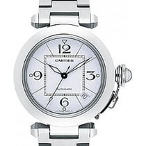 Cartier Pasha 2324 C 35 mm stainless steel