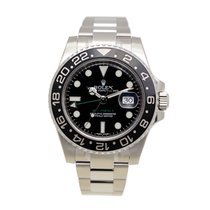 劳力士  (Rolex) Gmt-master II Stainless Steel Black Automatic...