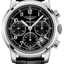 Longines The Saint-Imier 41mm L2.752.4.53.3 Steel Chronograph...