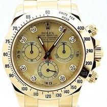 Rolex Daytona 116528 Champagne MOP Diamond Dial LC100