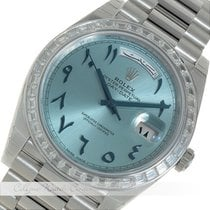 Rolex Day-Date Platin Indian/Arabic Numerals 228396TBR