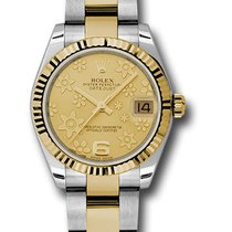 Rolex 178273Oyster Perpetual Datejust 31mm/18K Yellow Gold...