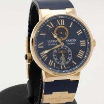 Ulysse Nardin Maxi Marine Chronometer 43mm in 18K pink gold -...