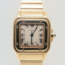 Cartier Santos Galbee 18k Yellow Gold 29mm Quartz