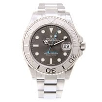 Rolex Yacht Master White Gold And Steel Gray Automatic 268622GY_O
