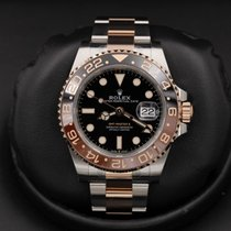 Rolex Gmt Master Ii 126711chnr Stainless Steel / Rose Gold
