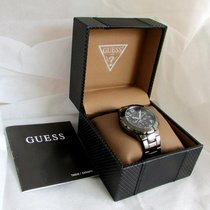 Guess BIG size, gunmetal, all original MINT